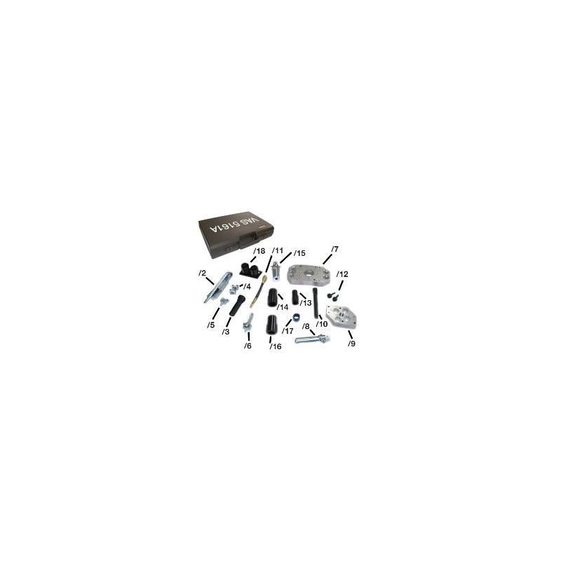 VAS5161A Zestaw naprawczy gniazd zaworów 4V/5V