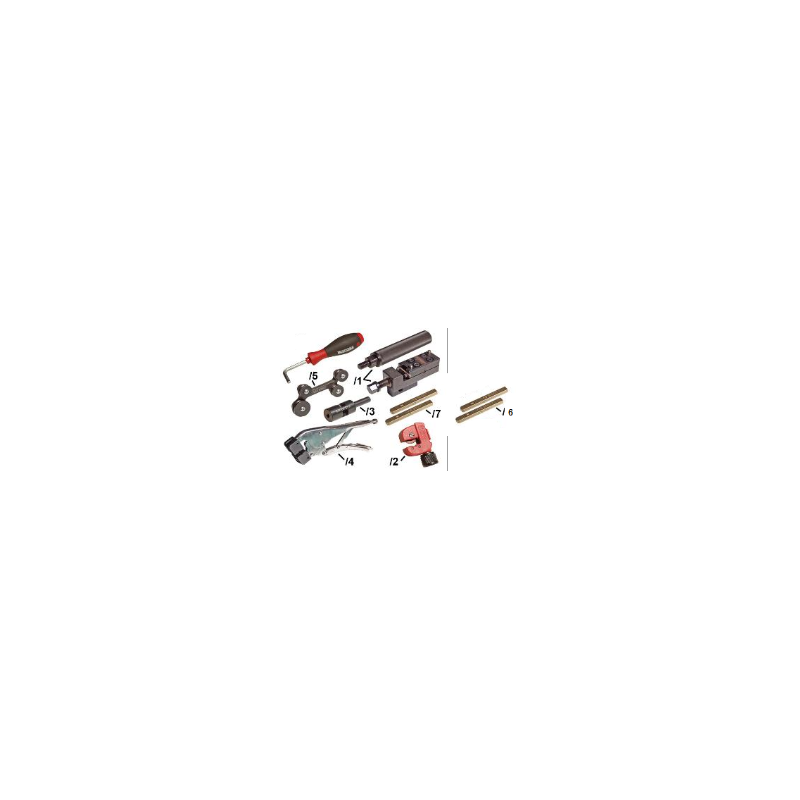 VAS6056 Zestaw naprawczy linek hamulcowych