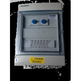 Rozdzielnia instalacji PV DC2 ogranicznik przepięć