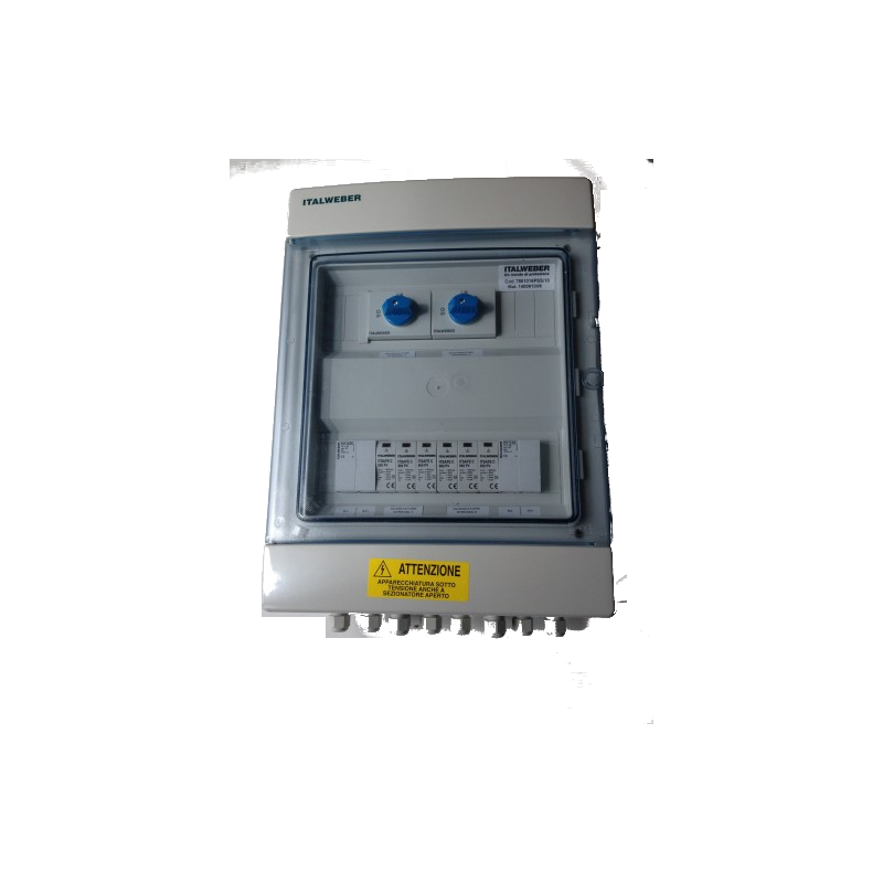 Rozdzielnia instalacji PV ogranicznik przepięć DC2