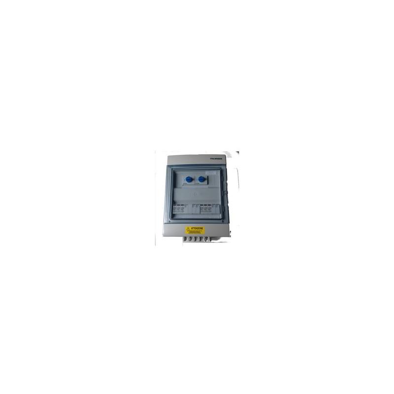 Rozdzielnia instalacji PV ogranicznik przepięć DC3