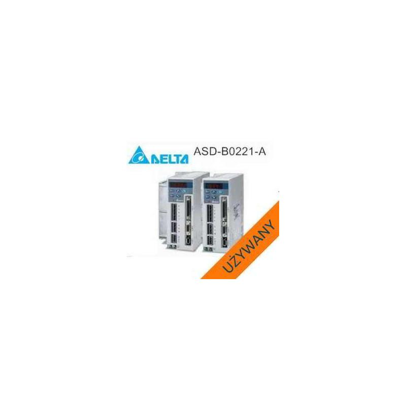 AC SERVO DRIVE ASD-B0221-A 220W 220V Delta uzywane