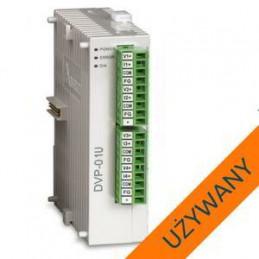 STEROWNIK PLC DVP01PU-S używany DELTA ELECTRONICS