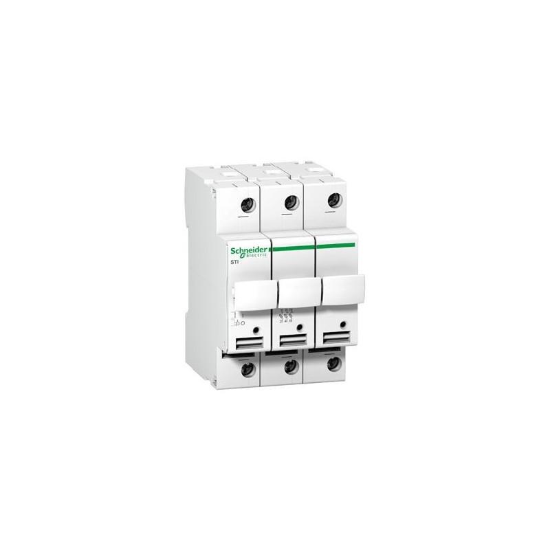 3P 10x38mm STI Rozłącznik bezpiecznikowy cylindryczny 15656 SCHNEIDER ELECTRIC