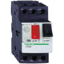 3P 2,2kW 4-6,3A Wyłącznik silnikowy GV2ME10 SCHNEIDER ELECTRIC