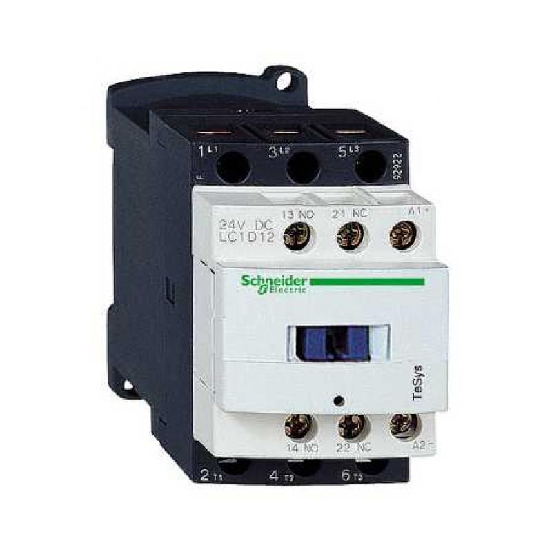 12A 3P 24V DC 1Z 1R LC1D12BD Stycznik mocy  LC1D12BD SCHNEIDER ELECTRIC