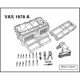 VAS1978A ZESTAW NAPRAWCZY WIĄZKI PRZEWODÓW