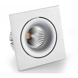 LAMPA LED 7W WPUSZCZANA RUCHOMA VENERE 1 SREBRNA