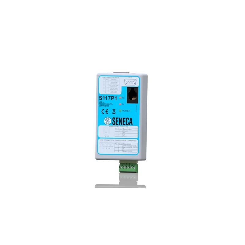 KONWERTER SZEREGOWY USB-RS232/RS485/TTL SENECA