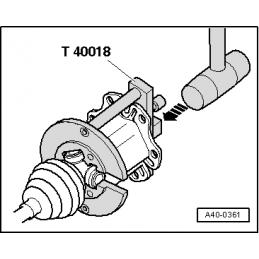 T40018 NARZĘDZIE SERWISOWE VW AUDI