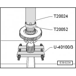 T20024 NARZĘDZIE SERWISOWE VW AUDI SEAT SKODA