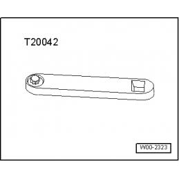 T20042 NARZĘDZIE SERWISOWE VW AUDI SEAT SKODA