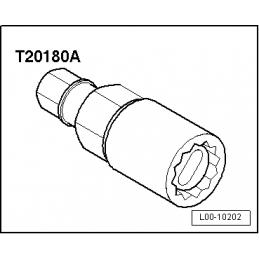 T20180A NARZĘDZIE SERWISOWE VW AUDI SEAT SKODA