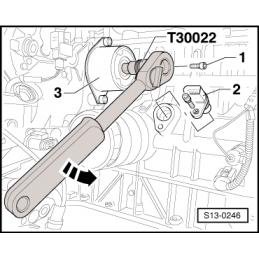 T30022 NARZĘDZIE SERWISOWE VW AUDI SEAT SKODA