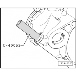U40053 SEAT NARZĘDZIE SERWISOWE VW AUDI SEAT SKODA