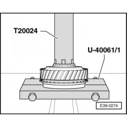 U40061/1 SEAT NARZĘDZIE SERWISOWE VW AUDI SEAT SKODA
