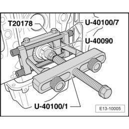 U40090 SEAT NARZĘDZIE SERWISOWE VW AUDI SEAT SKODA