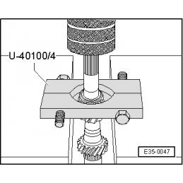 U40100/4 SEAT NARZĘDZIE SERWISOWE VW AUDI SEAT SKODA