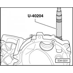 U40204 SEAT NARZĘDZIE SERWISOWE VW AUDI SEAT SKODA