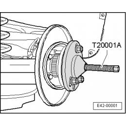 T20001A NARZĘDZIE SERWISOWE VW AUDI SEAT SKODA