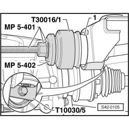 T30016/1 NARZĘDZIE SERWISOWE VW AUDI SEAT SKODA