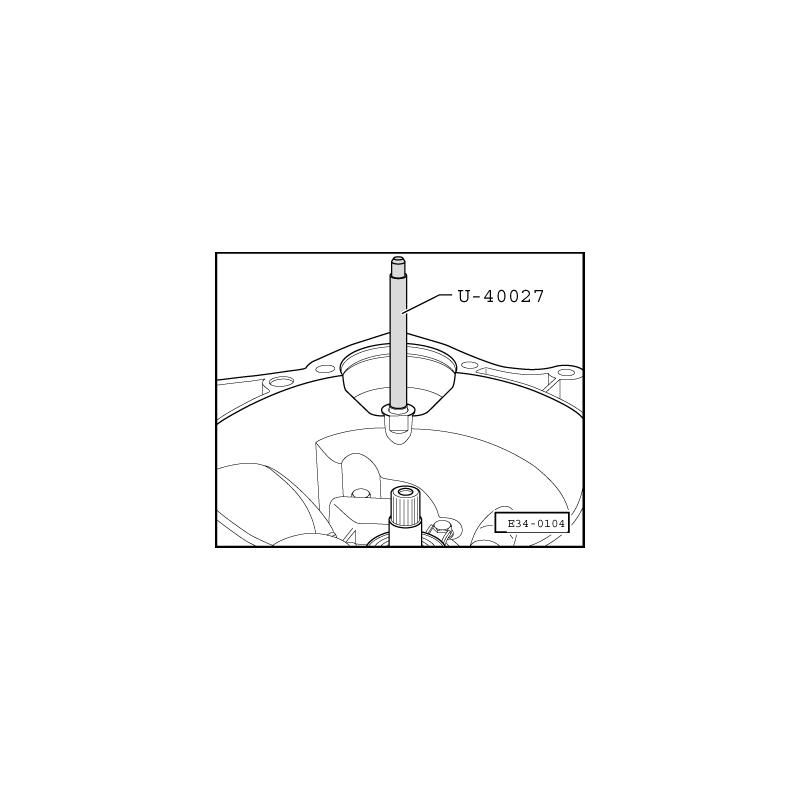U40027 SEAT NARZĘDZIE SERWISOWE VW AUDI SEAT SKODA
