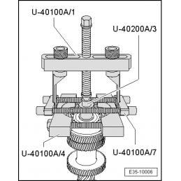 U40100/7 NARZĘDZIE SERWISOWE VW AUDI SEAT SKODA