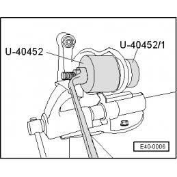 U40452 SEAT NARZĘDZIE SERWISOWE VW AUDI SEAT SKODA