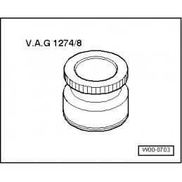 VAG1274/8 NARZĘDZIE SERWISOWE VW AUDI SEAT SKODA