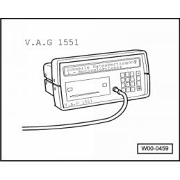 VAG1551 NARZĘDZIE SERWISOWE VW AUDI SEAT SKODA