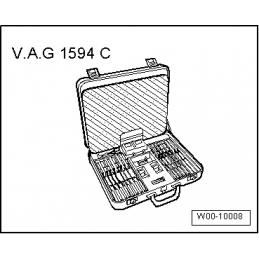 VAG1594C NARZĘDZIE SERWISOWE VW AUDI SEAT SKODA
