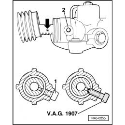 VAG1907 NARZĘDZIE SERWISOWE VW AUDI SEAT SKODA
