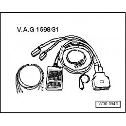 VAG 1598/31 NARZĘDZIE SERWISOWE VW AUDI SEAT SKODA