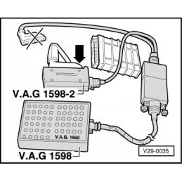 VAG 1598/2 NARZĘDZIE SERWISOWE VW AUDI SEAT SKODA