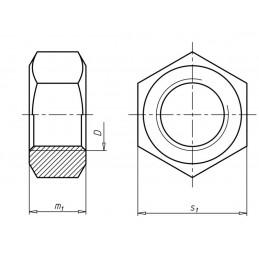 032210 NAKRĘTKA M10 A2-70 INOX