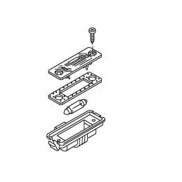 3D0943021A Lampa oświetlenia tablicy rejestracyjnej VW GOLF V, EOS, PASSAT CC, POLO, PHAETO