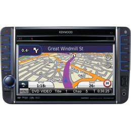 KENWOOD DNX520VBT GPS DVD BT VW SEAT SKODA